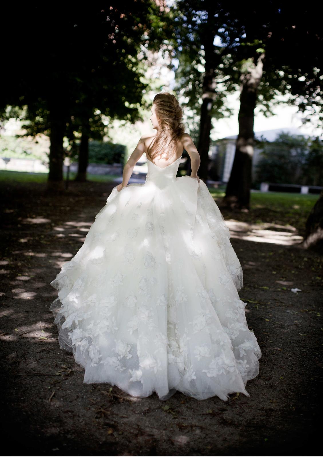 Brautkleid der Woche - Lea von Garamaj - Hochzeitsblog I Brautsalat