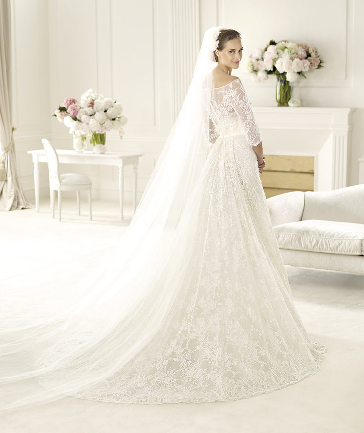 Brautkleid der Woche - Folie by Pronovias - Hochzeitsblog I Brautsalat