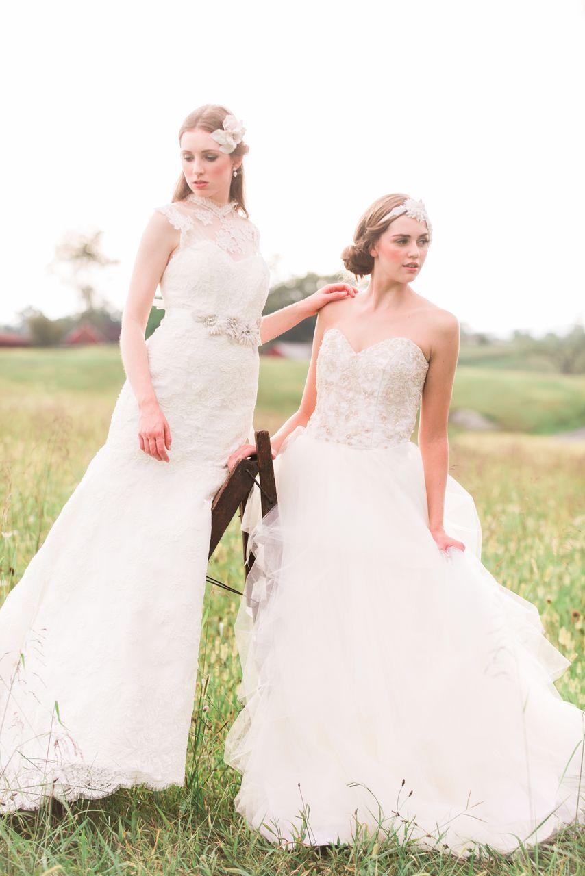 Sareh Nouri ~ romantische Brautkleider aus New York - Hochzeitsblog ...