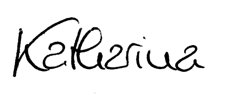Unterschrift K