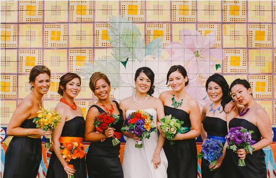 rainbow wedding25