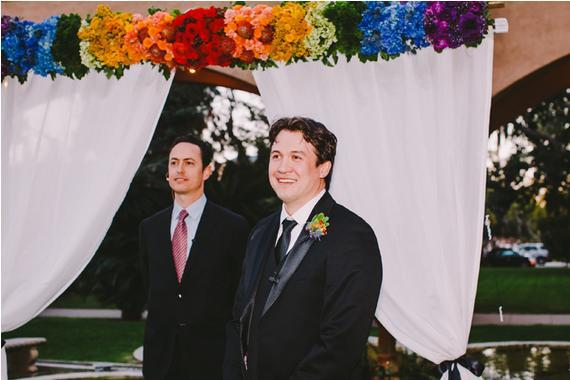 rainbow wedding30
