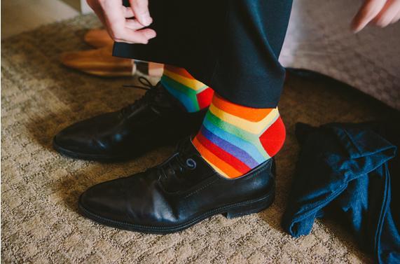 rainbow wedding5