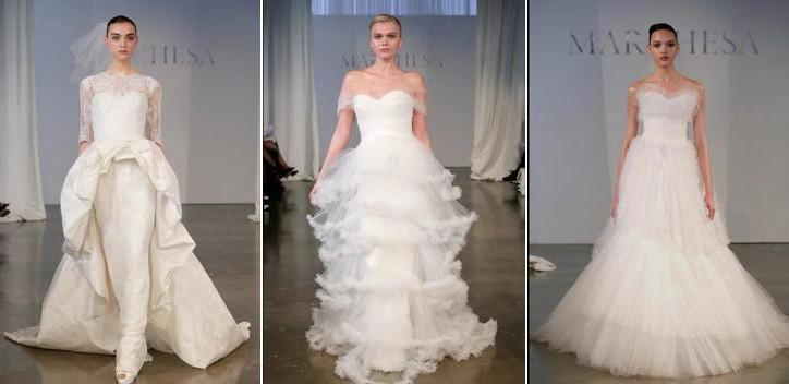 Die neuen Brautkleider ~ Spring 2014 Runway Shows ~ Marchesa ...