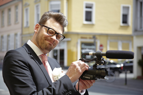Mann Kamera