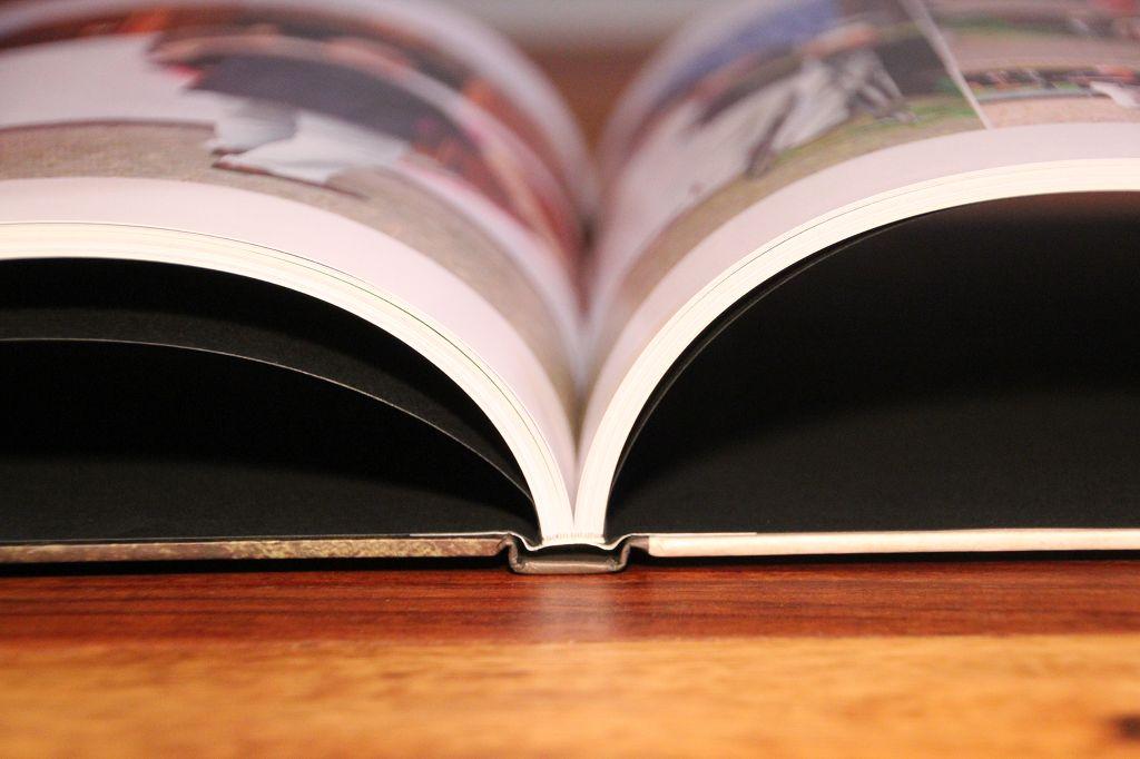 k-1 open book spine