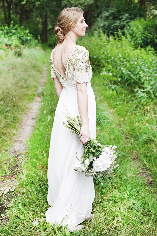 Natürlich-Romantische Brautinspiration ~ Styled Shoot in der ...