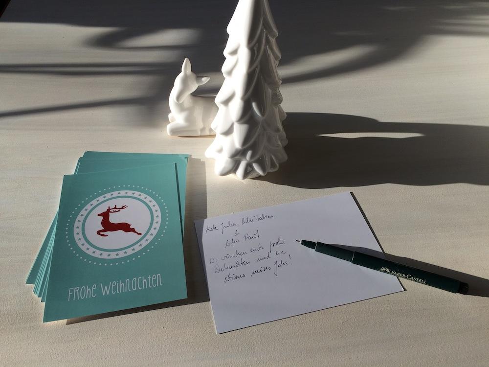 Weihnachtskarte Vom Brautsalat Vorlage Zum Ausdrucken