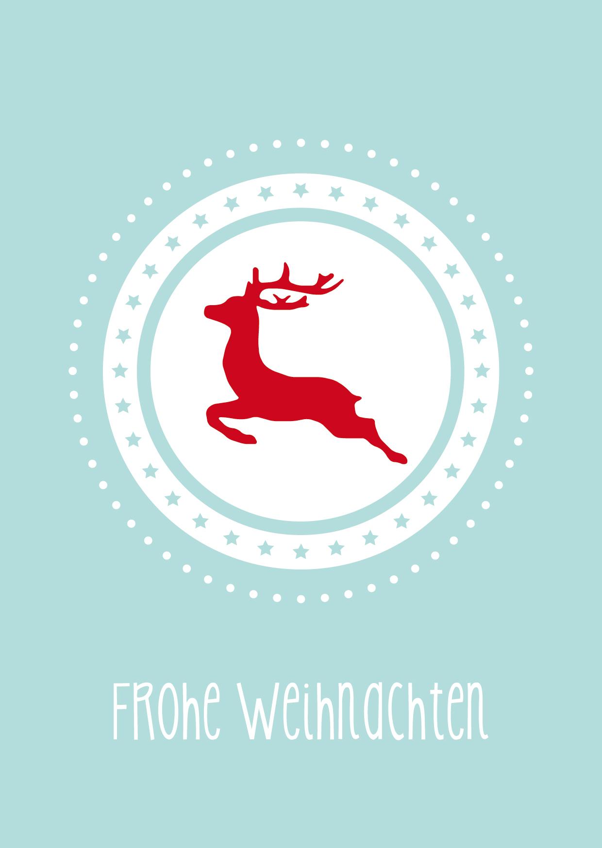 Weihnachtskarten Ausdrucken Vorlagen.Weihnachtskarte Vom Brautsalat Vorlage Zum Ausdrucken