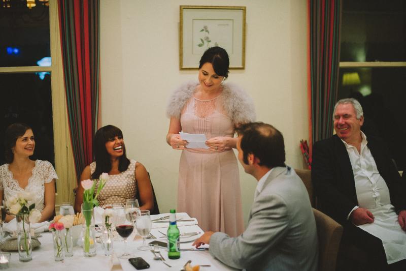 Hochzeitsrede der Schwester