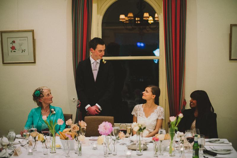 Hochzeitsrede des Bräutigams