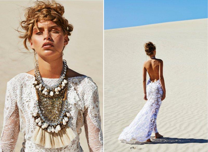 Boho-Brautkleider ~ Die neue Kollektion von Grace Loves Lace