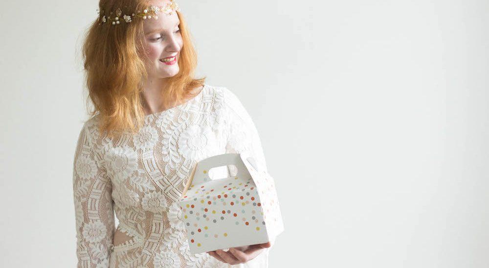 Box für Kinder auf der Hochzeit
