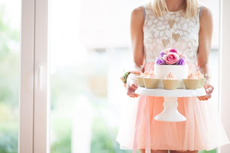 Hochzeitsinspiration in Rosé und Gold