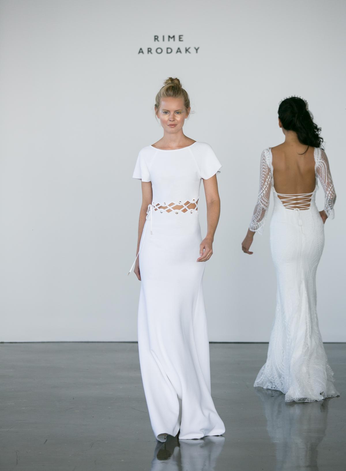 Nachhaltige Brautkleider - Vegane Brautkleider ~ Rime Arodaky