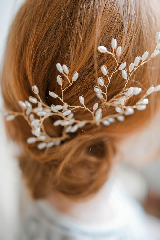 Accessoires Frühling Haarschmuck Für Die Moderne Braut