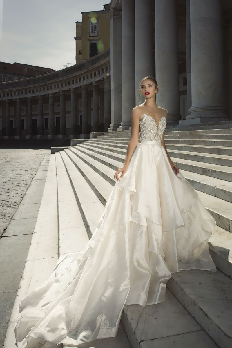 Julie Vino Fall 2017 Kollektion Brautkleid