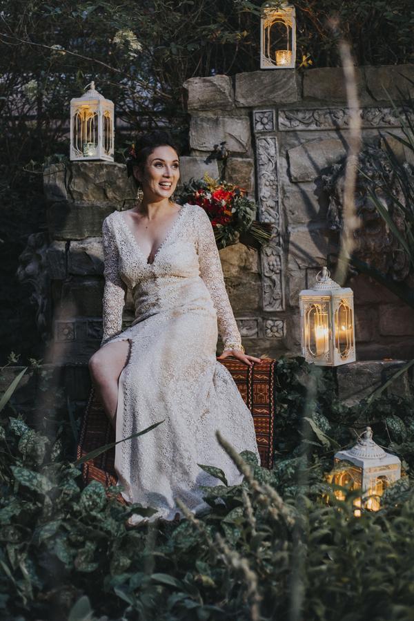 Bho-Braut Insppiration für die Hochzeiut im Orient-Trend auf Brautsalat