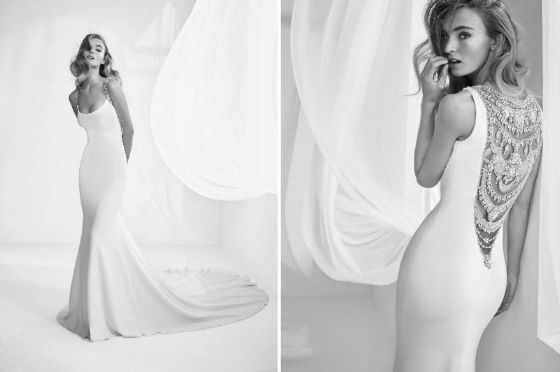 Pronovias Preview Kollektion 2018 Hochzeitsblog Brautsalat