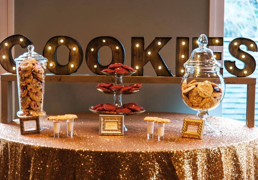keksbar cookie bar rote hochzeit hochzeitsblog brautsalat