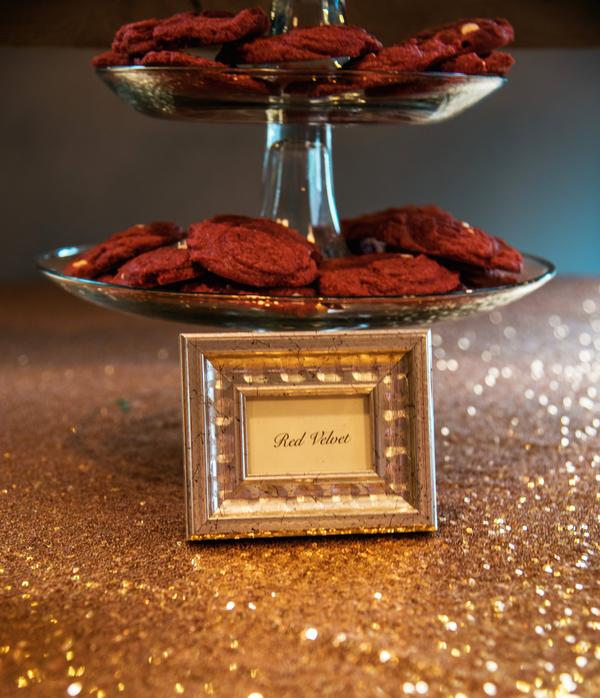 red velvet kekse rote hochzeit hochzeitsblog brautsalat