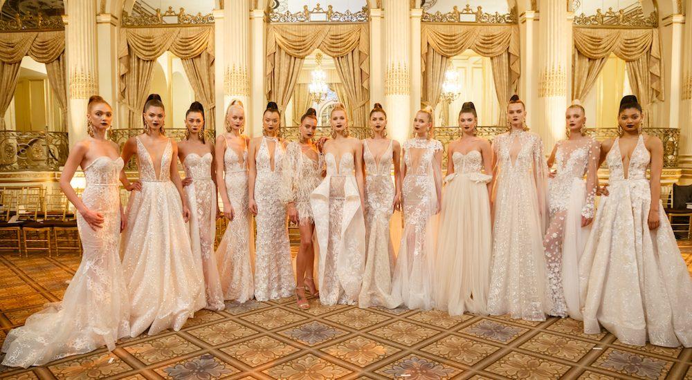 BERTA Brautkleider 2018 ~ Brautkleid Kollektion Runway Show im Plaza ...