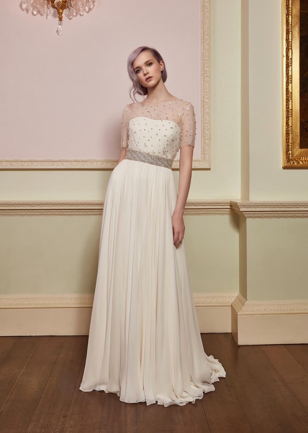 Jenny Packham Kollektion 2018 ~ Brautkleider mit Hollywood-Glam