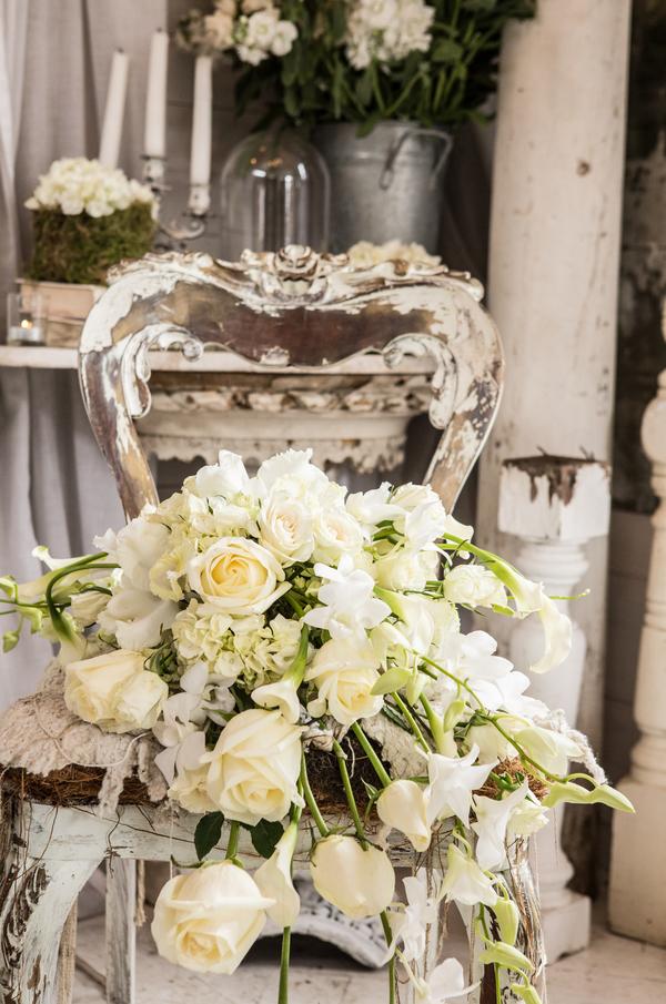 Shabby Chic Hochzeit Winterbraut Hochzeitsinspiration