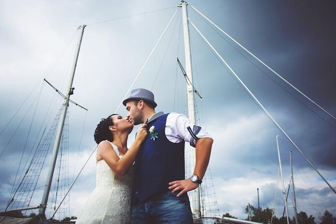 Hochzeit auf einem Schiff | © panthermedia.net /lobodaphoto