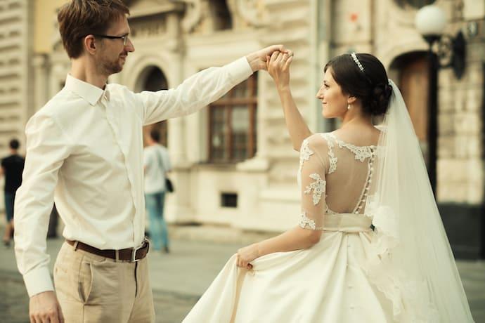 Hochzeit im Großstadtdschungel | © panthermedia.net /kanareva