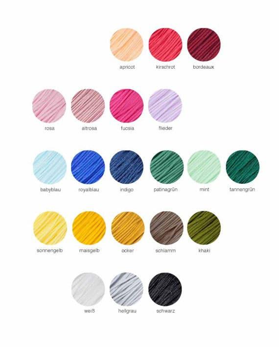 Farbauswahl für ein Oh Bracelet Berlin Armband