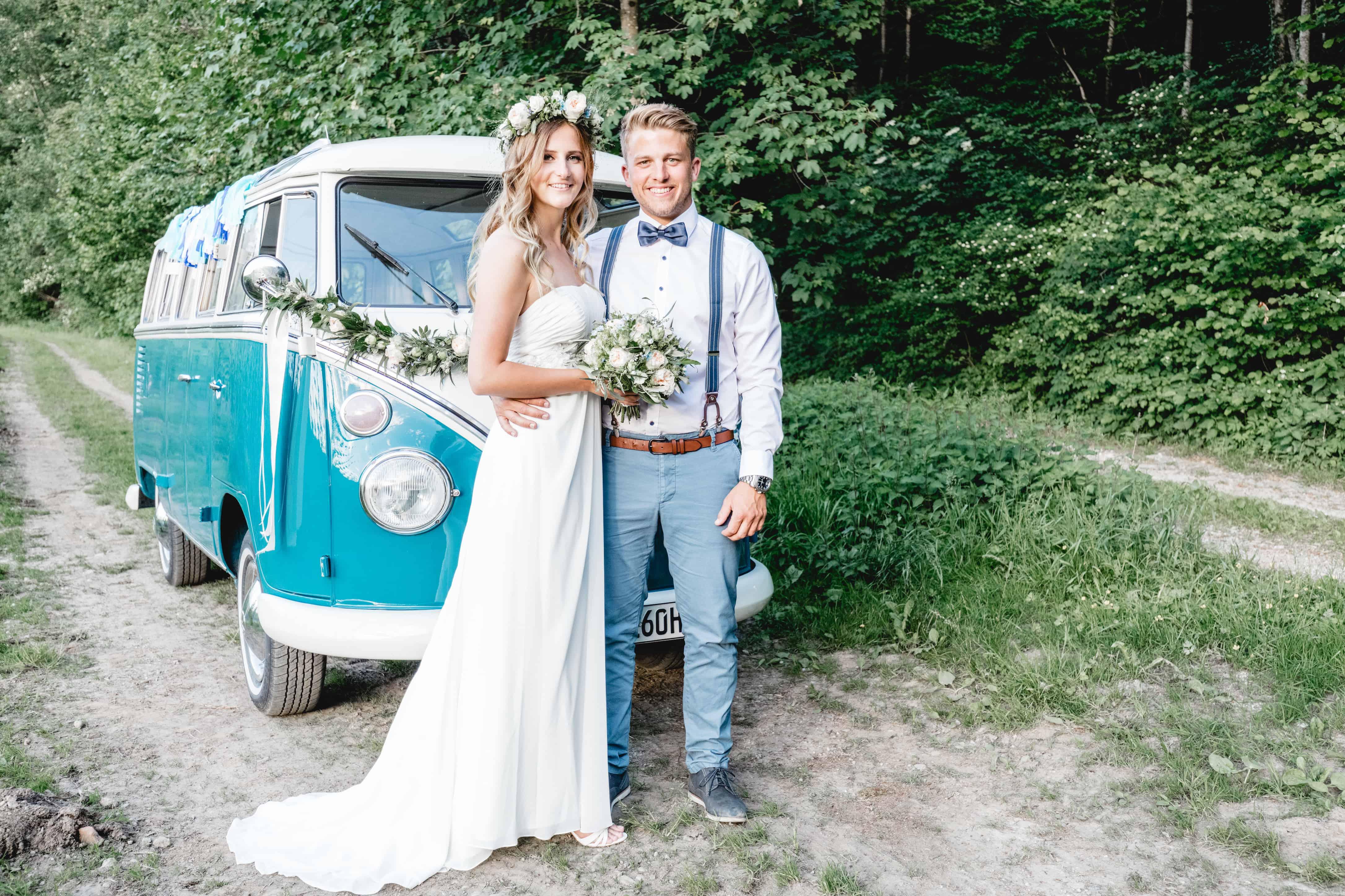 Styled Shoot Vintage Vw Bulli Jennifer Und Fabian Sylvia Simon