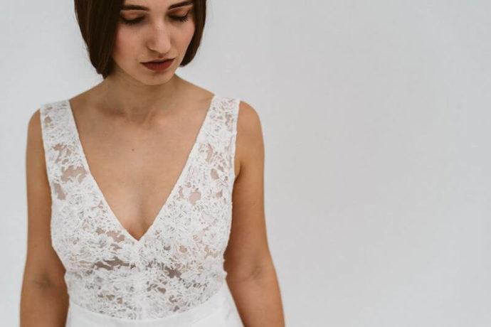 Blickfang Dekolleté | Die Bahrnausen Hochzeitsfotografie