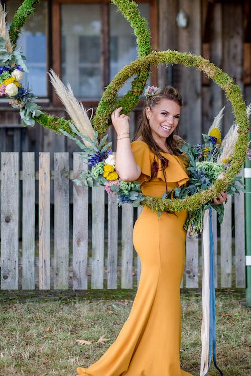 Blumenringe Vollbild | Franziska Finger Hochzeitsfotografie