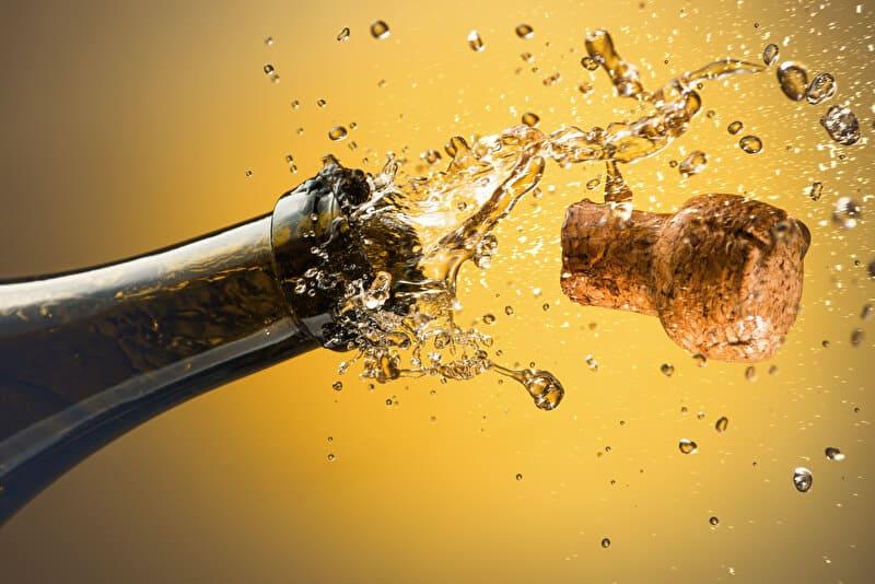Champagner | © PantherMedia / ktsdesign