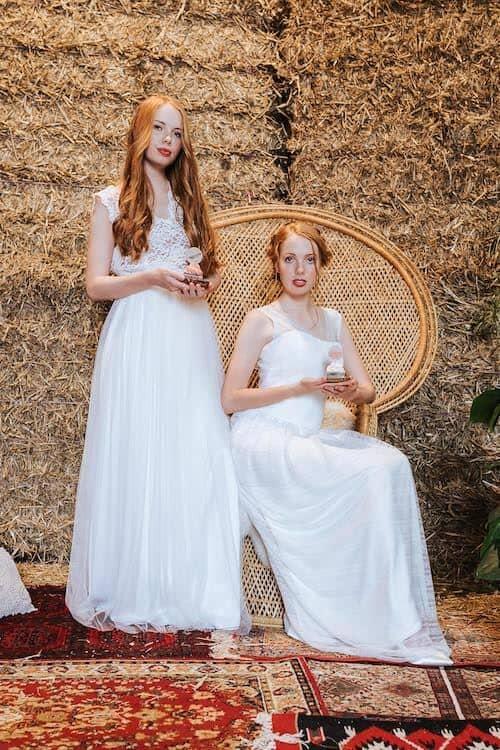 Die beiden Zwillingsschwestern | Deniz Pekdemir (Fotografin)