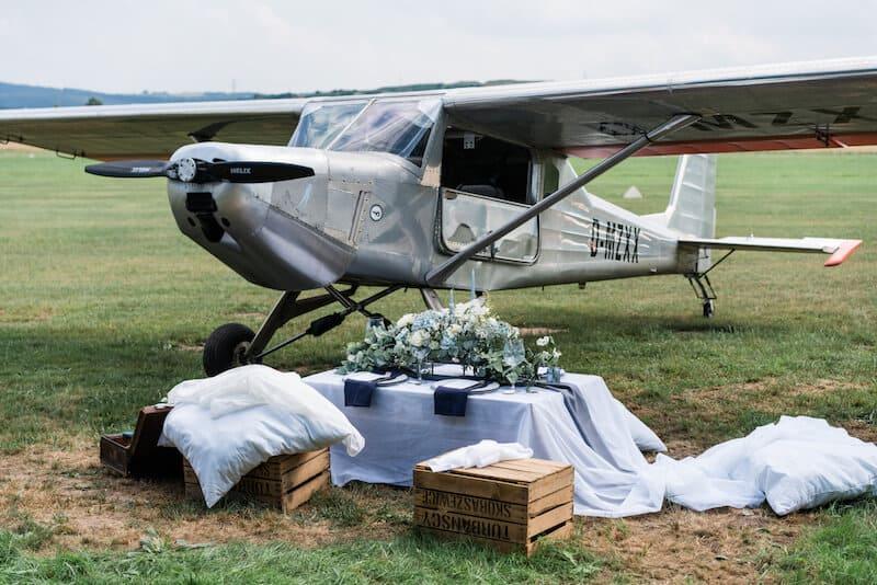Flugplatz Location |Hochzeitsfotograf Marcel Helfert