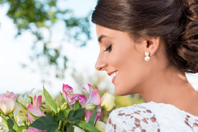Glückliche Braut   © panthermedia.net /IgorVetushko