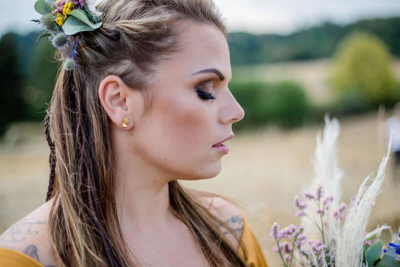 Haarschmuck der Braut | Franziska Finger Hochzeitsfotografie