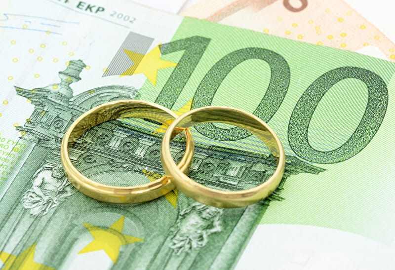Hochzeitsfinanzierung | © PantherMedia / Peter Jobst