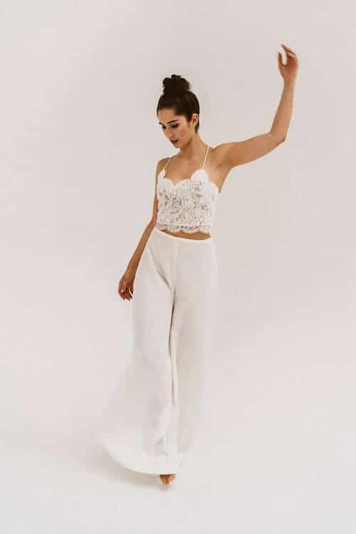 Hose statt Kleid | Die Bahrnausen Hochzeitsfotografie
