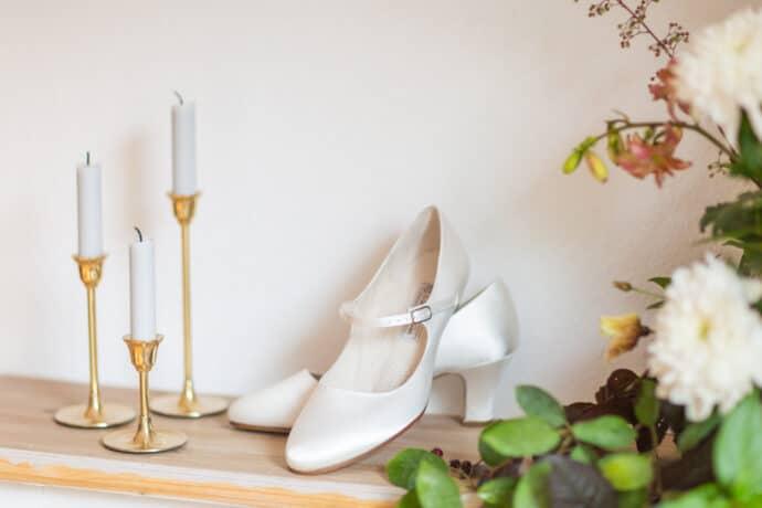 Klassischer Brautschuh von Werner Kern | Julia Basmann Photography
