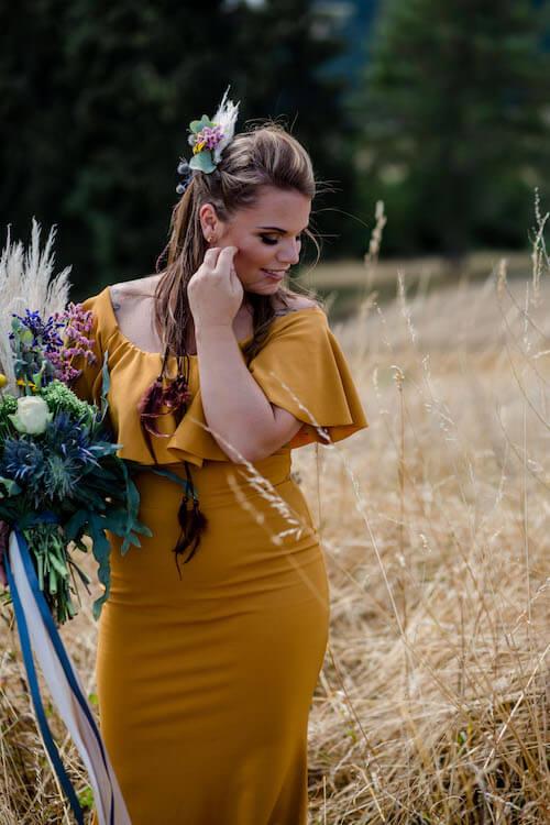 Mit Blick nach unten | Franziska Finger Hochzeitsfotografie