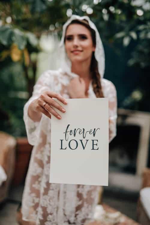 Nahaufnahme Forever Love | Jung und Wild design - Mica Zeitz
