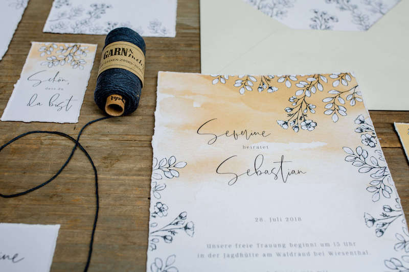 Papeterie | Franziska Finger Hochzeitsfotografie