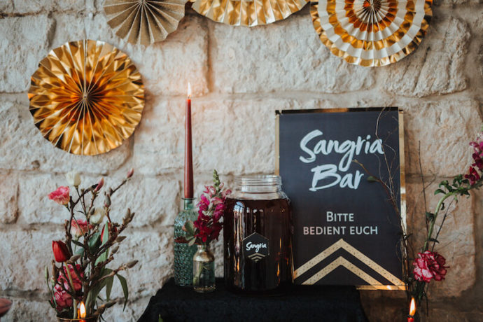 Sangria Bar | Jessica Braun Photography