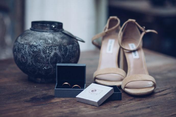 Schuhe und Ringe | Jennifer Spurk Fotografie