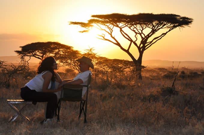 Sonnenuntergang in Afrika | © panthermedia.net /kapy