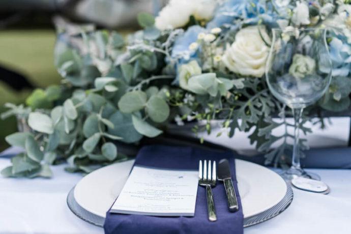 Tischdeko zum Thema |Hochzeitsfotograf Marcel Helfert
