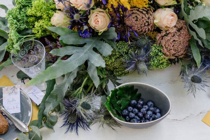 Tischdekoration Nahaufnahme | Franziska Finger Hochzeitsfotografie